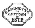 Società Gabinetto di Lettura in Este